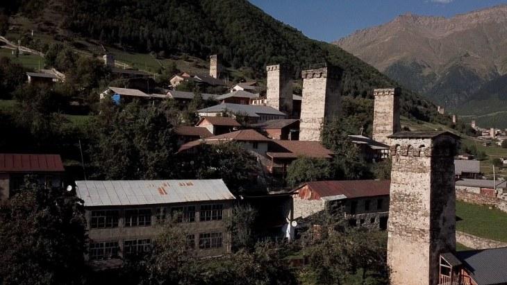 Georgian Svan towers2