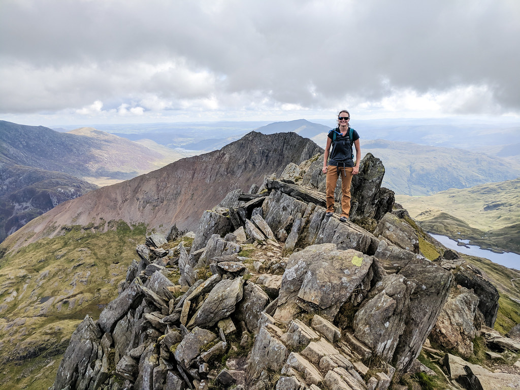Hiking to Snowdon in Wales