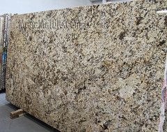 Namib Gold Granite slabs for countertop