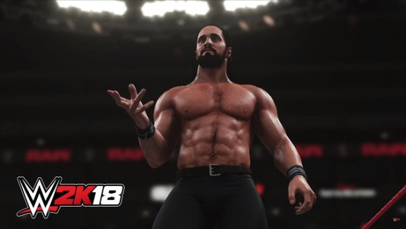 WWE 2K17 - Seth Rollins Shirtless