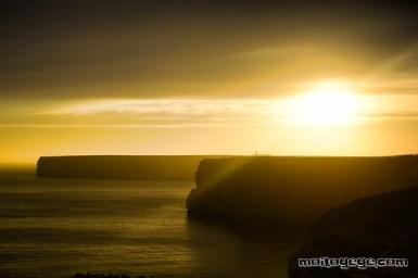 Puesta de sol desde Playa Do Beliche