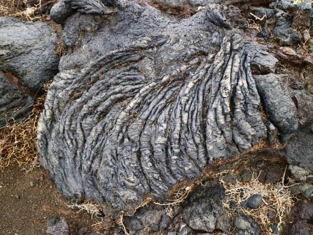Lavas cordadas ruta Tremesana