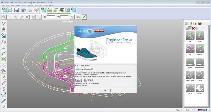 Thiết kế giầy với phần mềm Crispin Engineer Pro 2015 R1