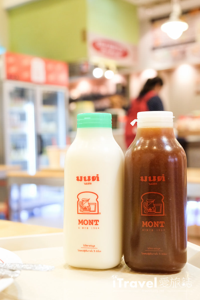 《曼谷銅板美食》Mont Nom Sod:半世紀烤土司鮮奶人氣老店