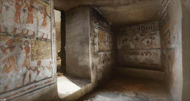 Sansar I Egyptian Tomb