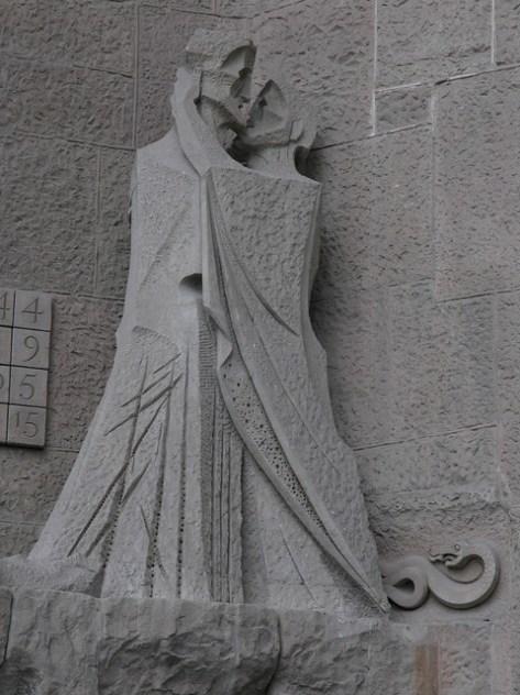 Barcelona Sagrada Familia s facade detail4