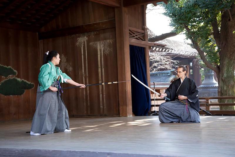 Shimizu Nobuko sensei y Ryôen Ryûko