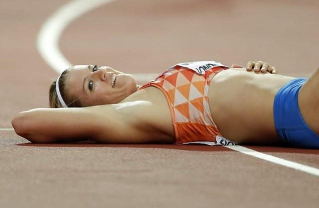 Dafne Schippers 200m Mundial IAAF Londres 2017