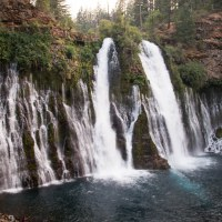 McArthur-Burney Falls State Park, and camping here