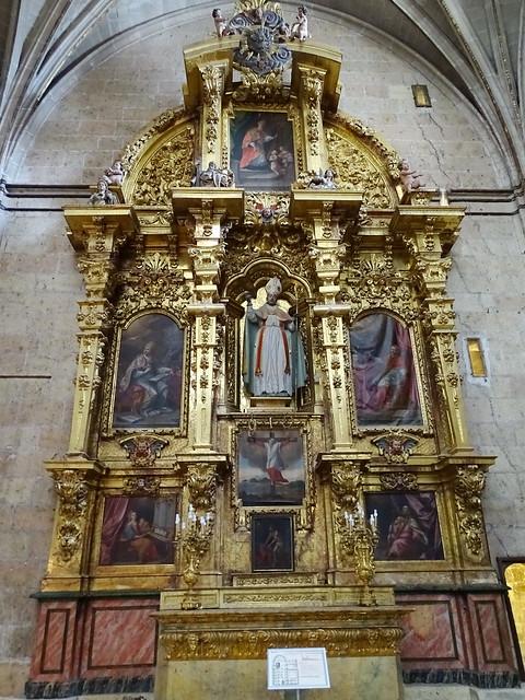 Segovia Capilla de San Blás en la Catedral de Nuestra Señora de la Asunción y de San Frutos