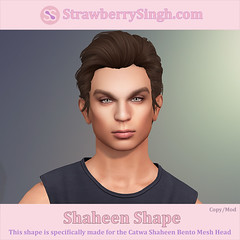 StrawberrySingh.com Shaheen Shape