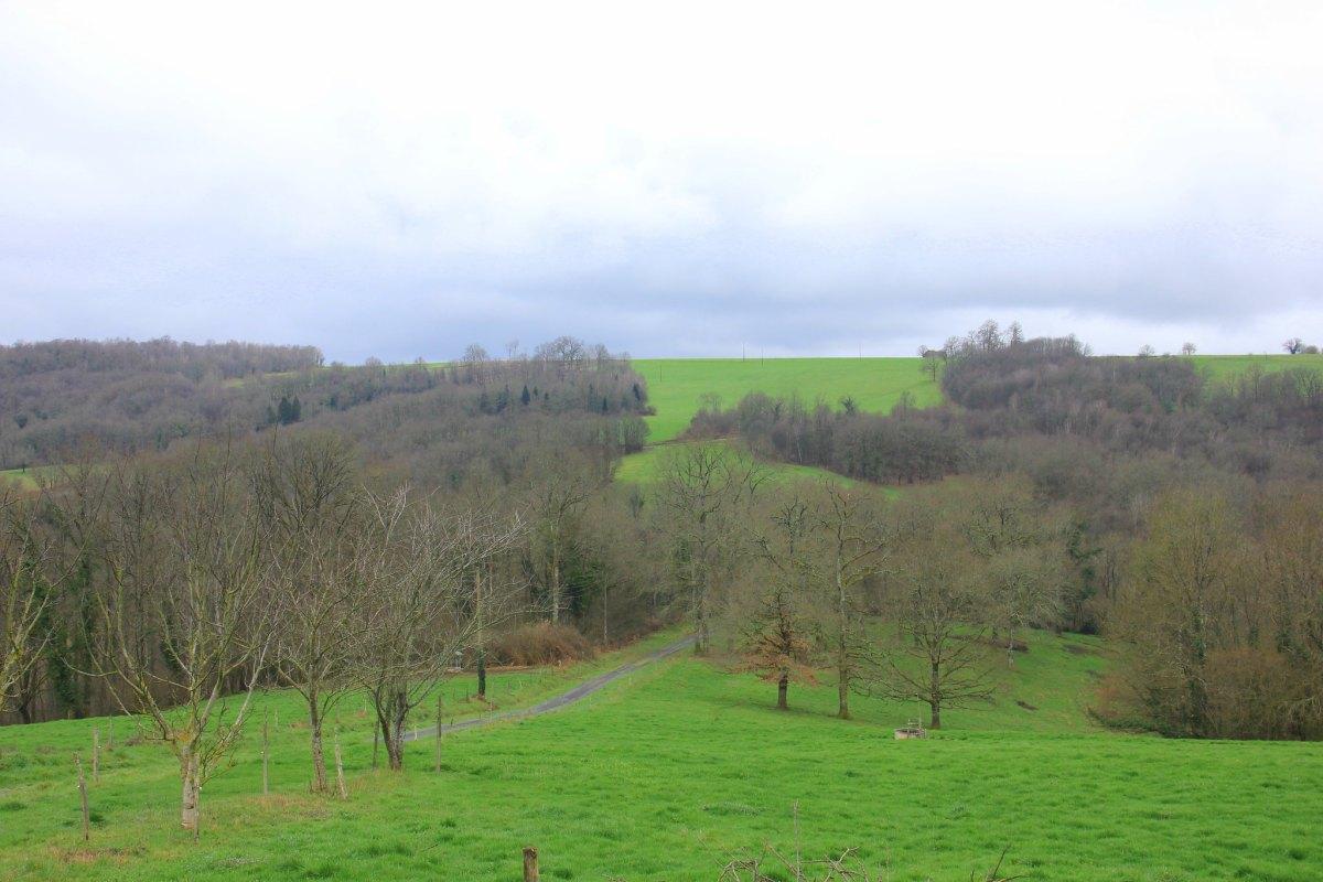 French spring in Dordogne