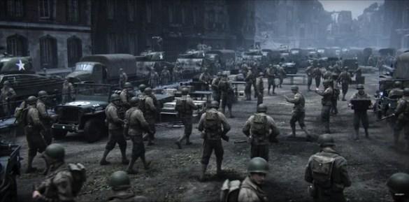 Call of Duty WW2 - US Base Camp
