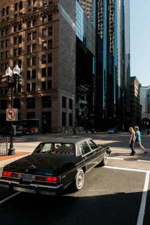 Buick at a Stop - Boston