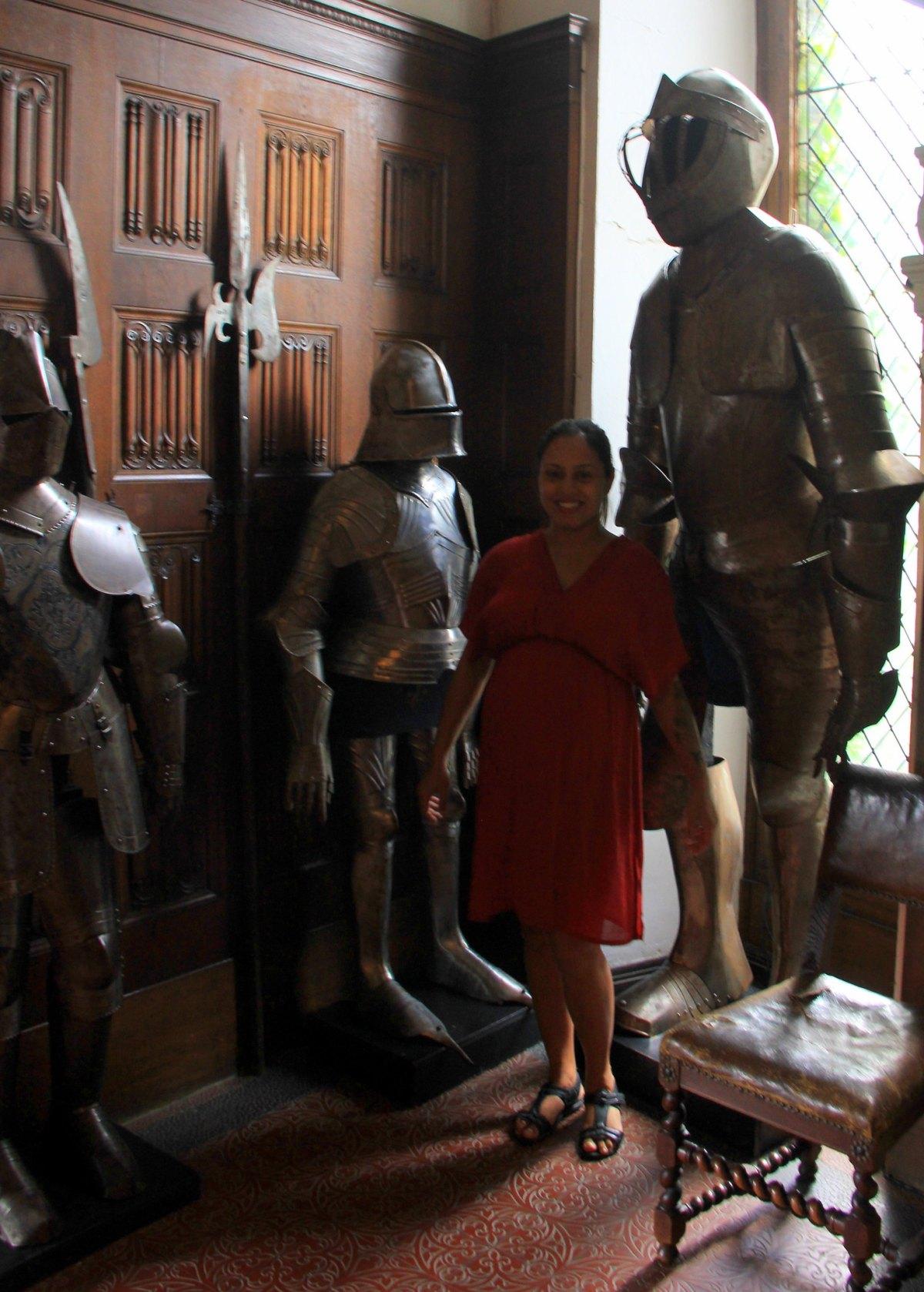 Knights Bower inside the cochem castle