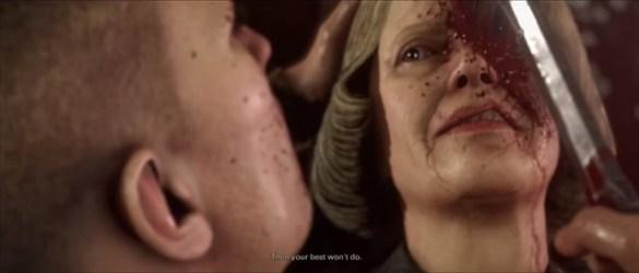Wolfenstein 2 - General Engel's Death