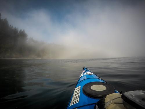 Samish Island Paddling in Fog-10