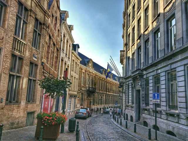 Streets in Brussels