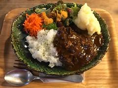 土鍋で作るハヤシライス