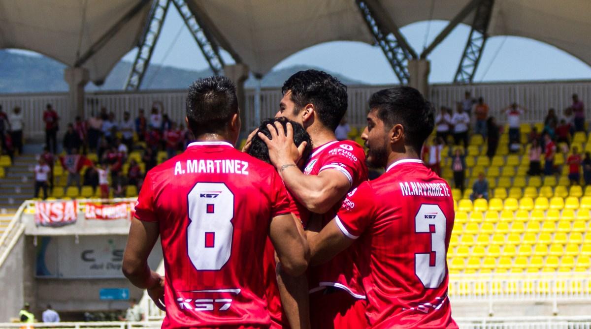 Unión La Calera 4-2 Deportes Copiapó