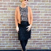 Outfit of the week: Leopard 'n lace