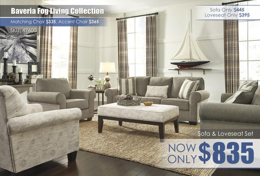 Baveria Fog Living Collection 47600-38-35-20-21-08-T792