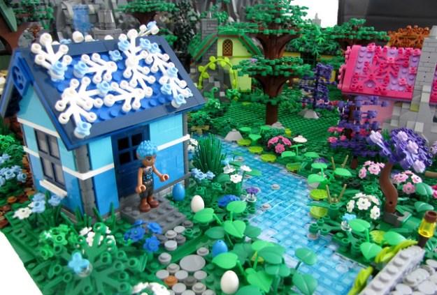 MOC Elven Village