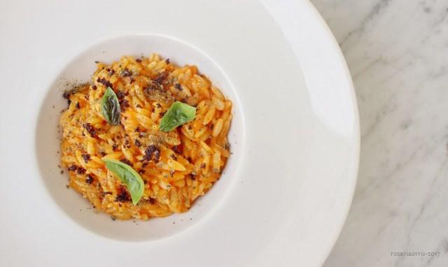 orzo peperoni olive e capperi