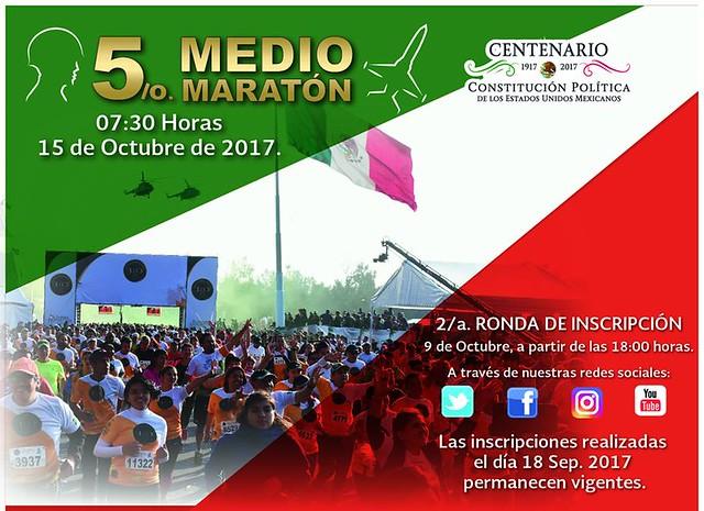 Medio Maratón SEDENA 2017