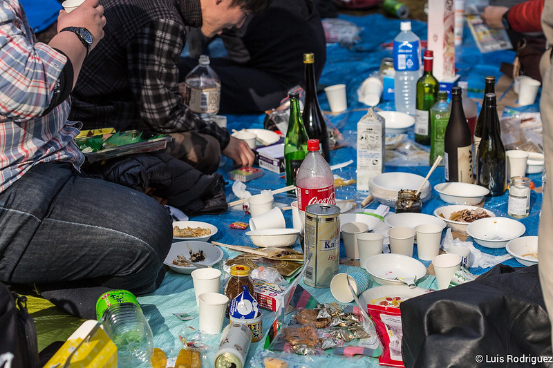 Saké, bière, thé, soda ... tout en un hanami!