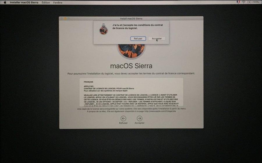 Installation mac OS Etape 00010