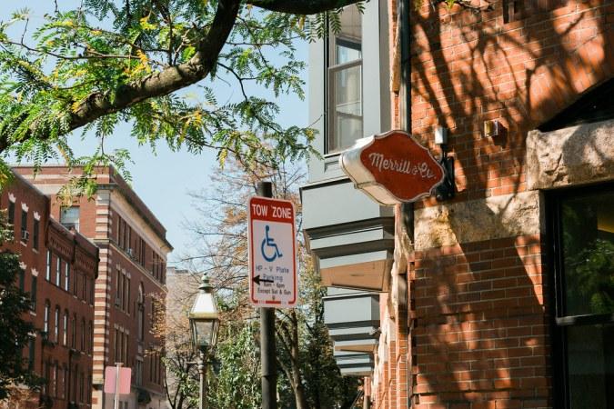 Merril & Co. sign in Boston