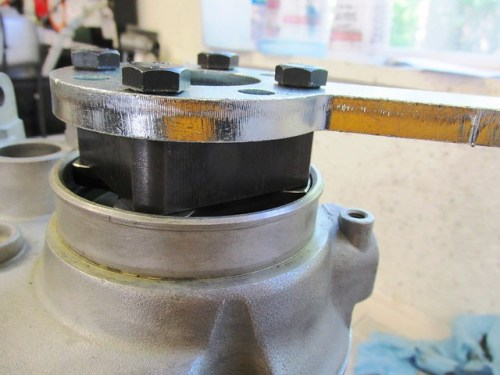 Cycle Works Transmission Output Shaft Flange Tool Assembly