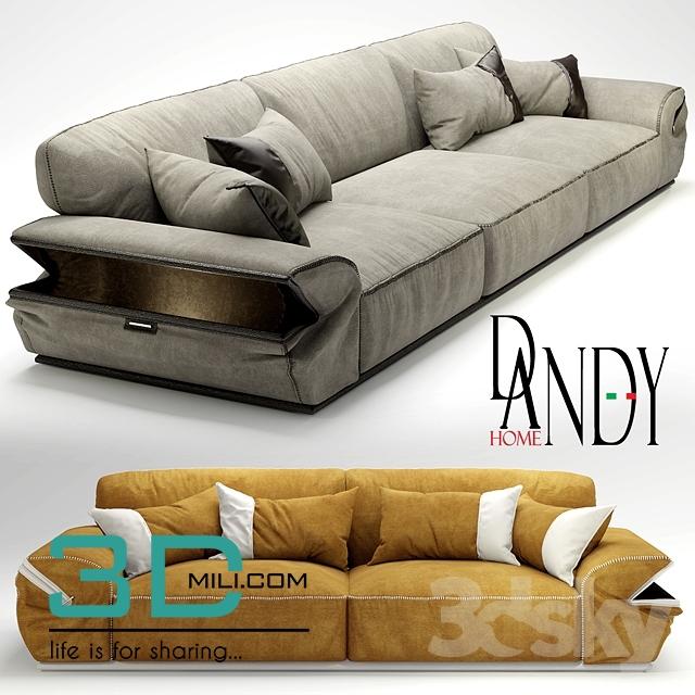 189 sofa dandy sofa mod limousine 3d mili download 3d for Frigerio arredamenti