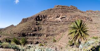 Oberhalb des Barranco de Argaga