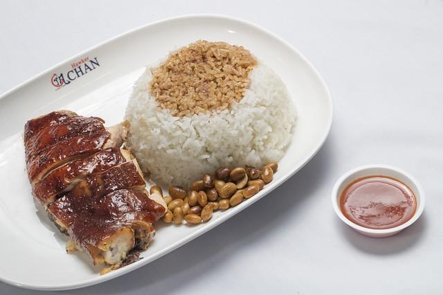 Hong Kong Soya Sauce Chicken Rice