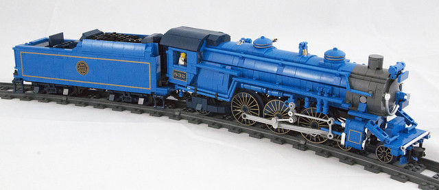LEGO Train The Blue Comet