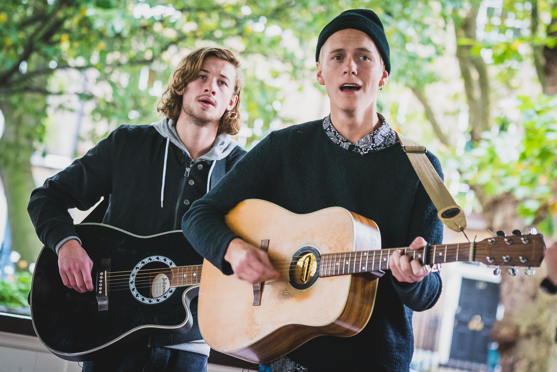 Bandstand Busking: Maple & Rye
