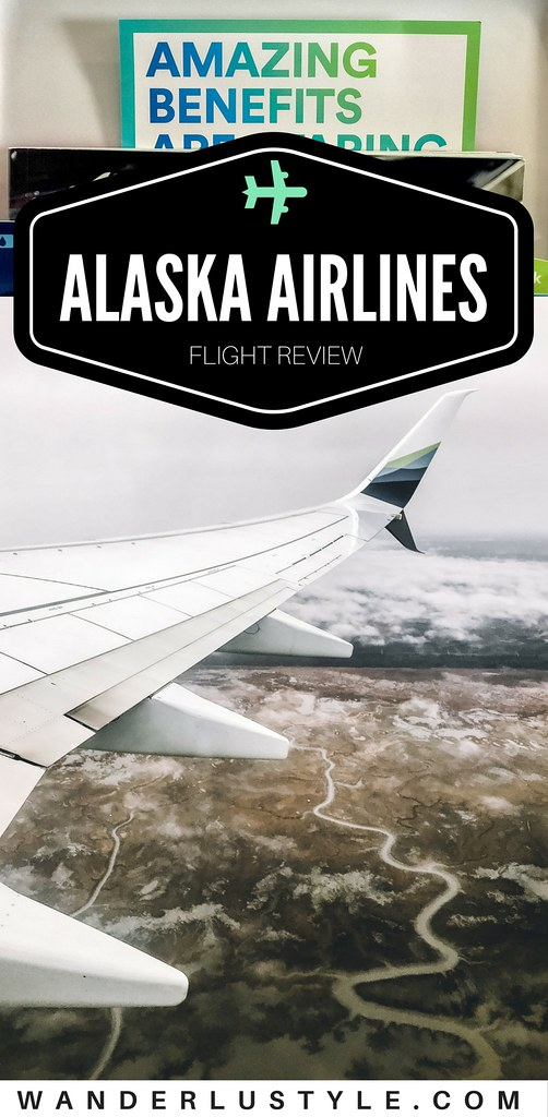 Flight Review: Alaska Airlines | Wanderlustyle.com