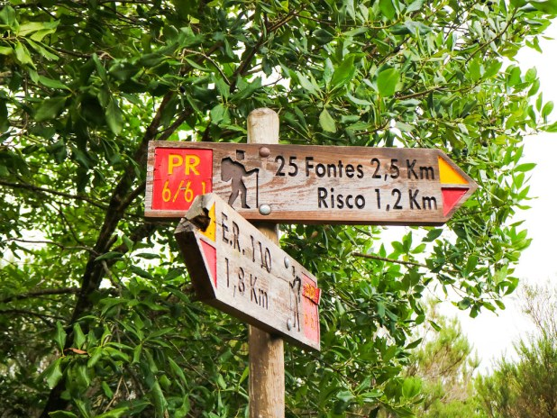 Ruta de senderismo en Madeira