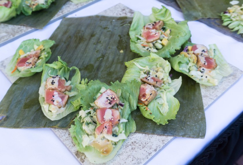 Ahi Tuna Salad, Captain's Table, Punta Gorda Restaurant Week 2017 - Launch Party, Oct. 26, 2017