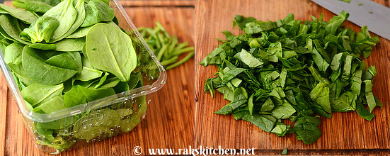 Spinach-murukku-step1