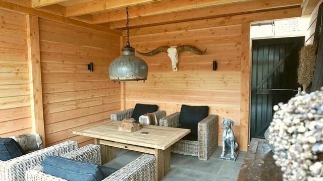 Longhorn gewei veranda