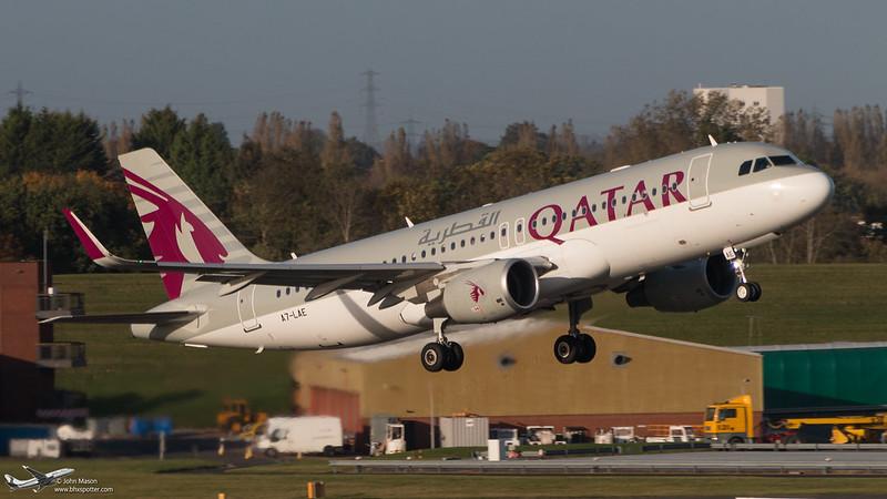 A7-LAE A320SL QATAR