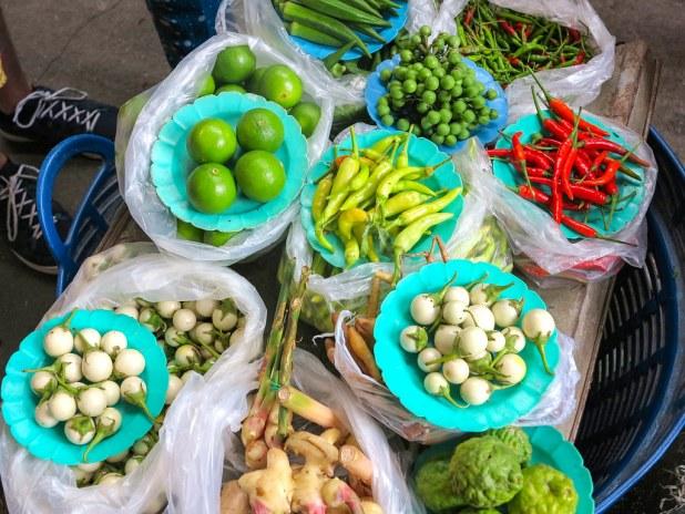 Mercado local en Chiang mai
