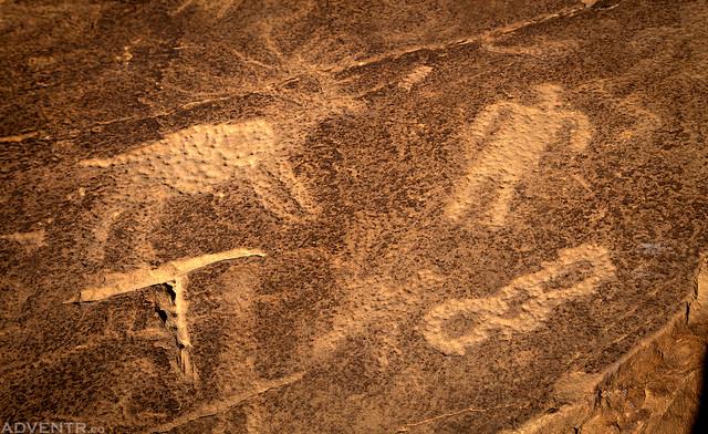 No Thorougfare Petroglyphs