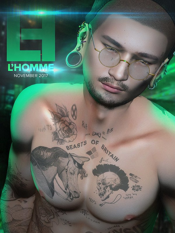 L'Homme Magazine SL November 2017