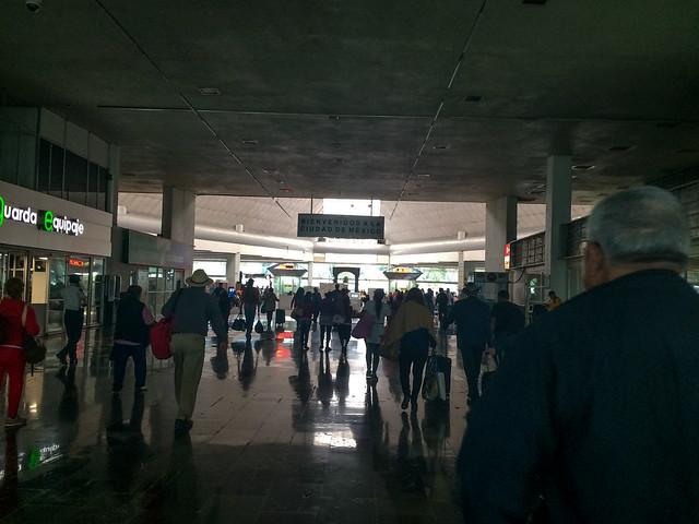 El Norte Station in Mexico City