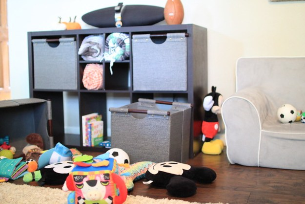Managing Toy Organization without a Playroom