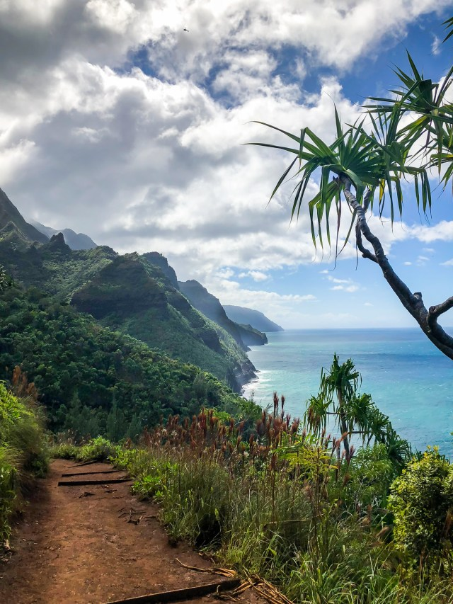 the breathtaking na pali coastline, from the kalalau trail